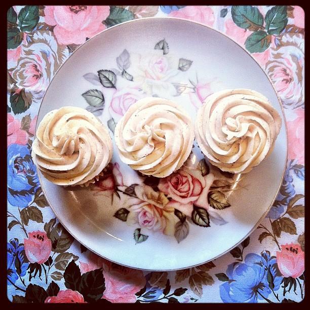 vegan vanilla spice cakes (gluten free, soy free, nut free, etc)