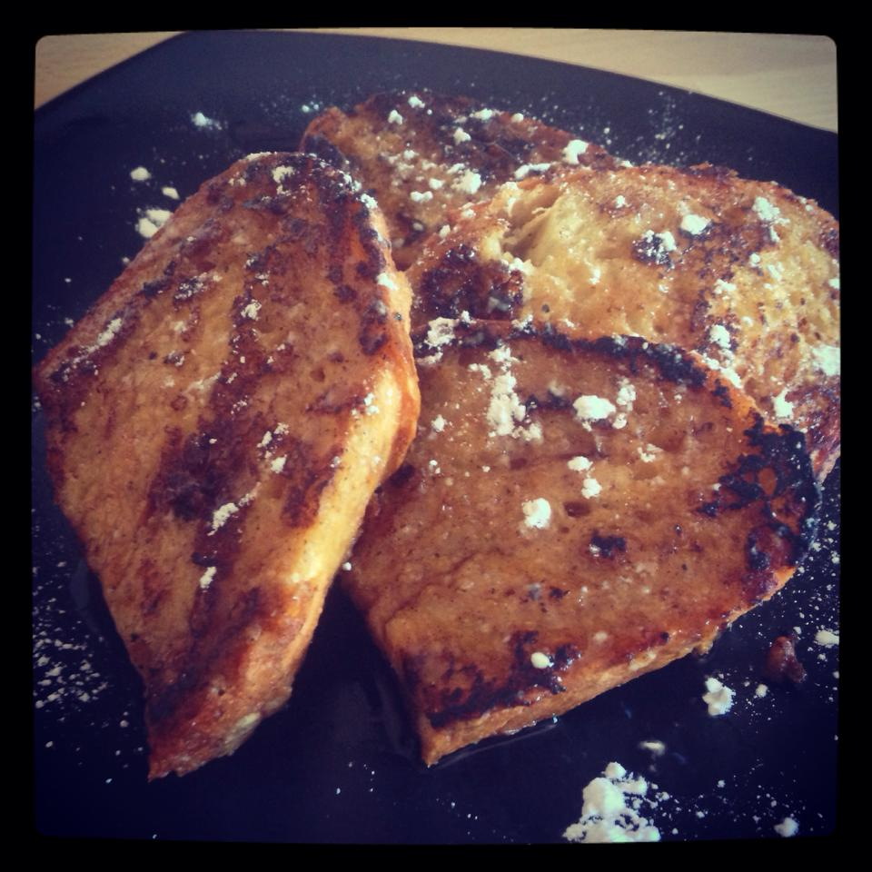NOW IT IS FRENCH TOAST