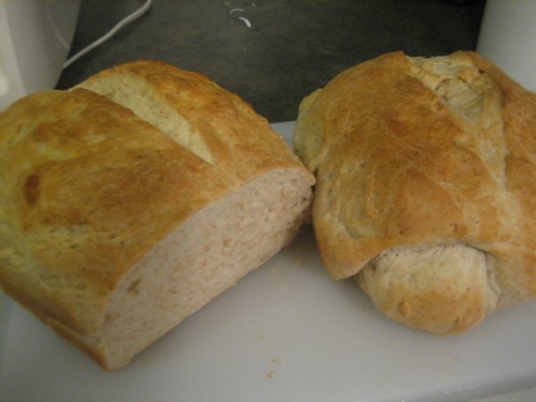 When I first went vegan, I totally took to baking my own bread because I was terrified of trying to find it in my small town!