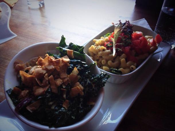 My first visit to Noorish ever for some reason. Delicious jalapeño Mac, and black kale Caesar!