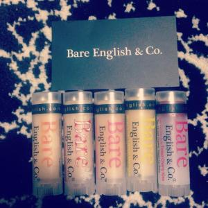 bare english & co lip treats <3