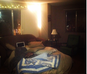 I might be a grownup, but my favourite thing lately has been to turn my living room into a giant cozy fort.