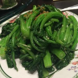 garlicky garlicky babely greens <3