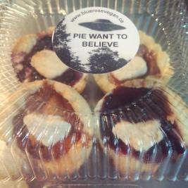 TINY PIES AND XFILES MY TWO FAVOURITE THINGS AT LAST