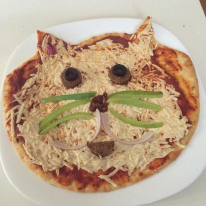 This was my first ever pizza cat <3